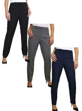 Unbranded Mid Rise Tapered Tailored Trousers for Women