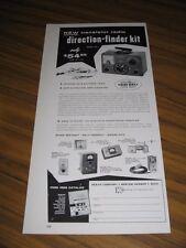 1958 Ad Heathkit Do-It-Yourself Marine Direction Finder Kit Benton Harbor,MI