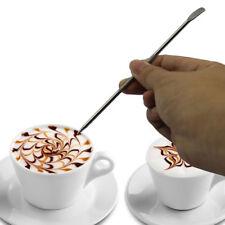 TOOL ACCESSORIO LATTE ART PENNA DISEGNARE TOPPING GHIRIGORI CAFFE ESPRESSINO xq