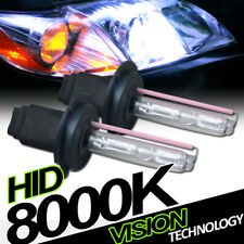8000K Hid Xenon H7 High Beam Headlights Headlamps Bulbs Pair Conversion Kit Vg7