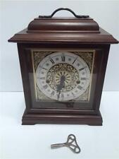 Howard Miller Franz Hermle 340-020 Mantel Clock w/ Key