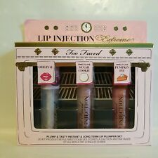 Too Faced Lip Injection Extreme Plump & Tasty Trio Set Holiday 2020