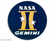 """4"""" GEMINI 2 SPACE ASTRONOMY NASA MISSION HELMET BUMPER STICKER DECAL MADE IN USA"""