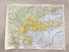 1965 Vintage Military Map of New York USA Aircraft Aeronautical Chart RAF