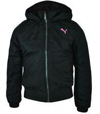 Manteaux, vestes et tenues de neige noires en polyester pour fille de 2 à 16 ans Automne