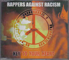 Rappers Against Racism-Key to your Heart cd maxi single
