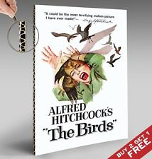 Alfred Hitchcock The Birds * Vintage Movie Poster A4 Glossy Photo Picture Print