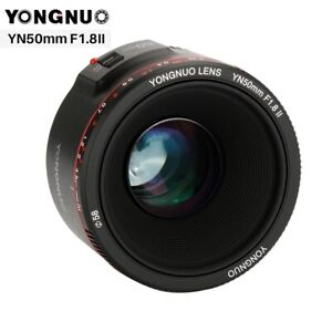YONGNUO YN50mm F1.8 II Large Aperture Auto Focus Lens For Canon Nikon Camera SLR