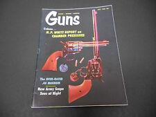 Guns Magazine July 1965 H.P. White Report On Chamber Pressures Hunting M2200