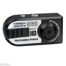 Q5 12 MP Mini Wireless Camera/Digital Video Recorder Black