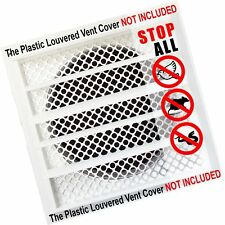 New Aroma Trees Dryer Vent Bird Stop - Dryer Vent Grill - Pest Guard - Stops ...