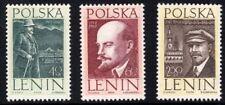 Poland Scott 1056-58 Lenin Arrival, Polen NH 1962