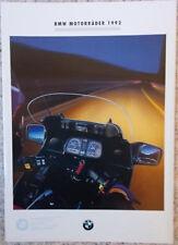 Prospekt BMW Motorrad Programm 1992 dicke Mappe