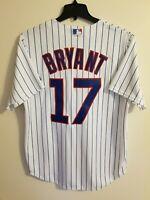 NWT Kris Bryant Chicago Cubs Majestic Cool Base Men's L Sewn Jersey