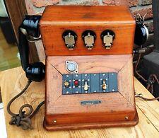 Altes Antikes Telefon aus Holz - AOIP