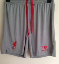 Liverpool FC, Grey, Away Shorts, Warrior, M