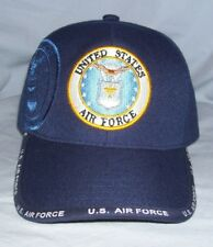 U.S. Warriors United States Air Force Adjustable Strapback Baseball Cap Hat NEW!