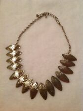 "Tori Spelling Gold Tone Necklace Chain 16"" With 3"" Extender HSN"