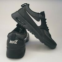 Nike Women's Air Max Thea Black and White, UK6, EUR40