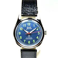 HMT Jawan Numeric Blue Face Cal. 020 17 Jewels Hand Winding Watch RH