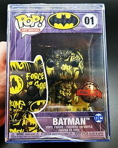 Funko PoP! Art Series Batman 01 DC Special Edition Case Vinyl Figure