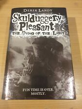 Skulduggery Pleasant: The Dying of the Light - Limited Edition Signed