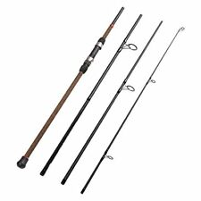 4-Piece Surf Spinning Fishing Rod Graphite Travel Fishing Rod Length 9 Feet