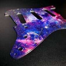 Fender Strat Custom Graphic Pickguard 8 11Hole Universe by Stormguitar
