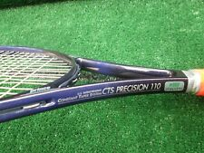 Tennis Prince CTS Precision 110 Tennis Racquet Over Wrapped 4 1/8 Grip 1988 VGC