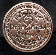 Halifax Explosion Commemorative - Copper Medal