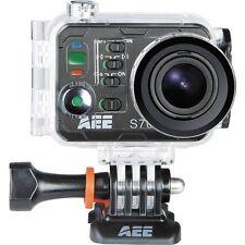 "Aee S71 Digital Camcorder - 2"" Lcd - Exmor R Cmos - 4k - Black - 16:9 - Mpeg-4 -"