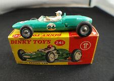 Dinky Toys n° 241 Lotus Formula 1 racing car en boite