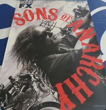 Kurt Sutter signed auto autographed Sons of Anarchy 2010 Comic-Con SDCC poster