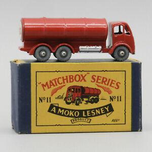 Lesney Matchbox 11B Road Tanker MW in B2 Box