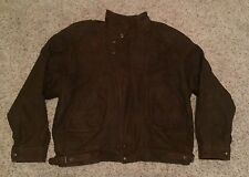 VTG Georgtown Leather Designs Expedition Jacket w/ Removable Thinsulate Liner XL