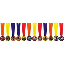 BLAZE and the MONSTER MACHINES AWARD MEDALS (12) ~ Birthday Party Supplies Favor
