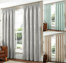 Curtina Floral Modern Pencil Pleat Curtains & Pelmets
