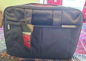 """Corniche Toploader Laptop Bag 17"""" New, never used, with carry strap"""