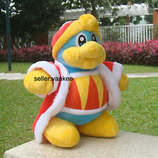 """Nintendo Kirby Plush Toy King DeDeDe 10"""" Boss Stuffed Animal Soft Doll Game 3DS"""