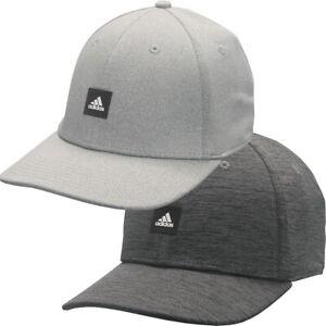 Adidas Heather Patch Stretch-Fit Golf Hat,  Brand New