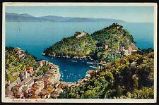 AX0267 Genova - Provincia - Portofino - Panorama - 1936 old postcard