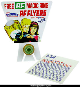 Jonny Quest P.F Flyers Magic Ring B.F. Goodrich secret signal decoder premium