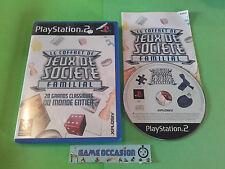 LE COFFRET DE JEUX DE SOCIETE FAMILIAL PS2 PLAYSTATION PAL