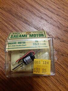 NWSL 10131-9 Sagami Flat Can Motor 12 VDC 10 x 13 mm Boxed Japan