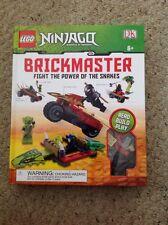 New Lego Ninjago Brickmaster Fight The Power Of The Snakes.  Book, Blocks, 2 Fi
