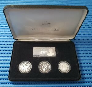 1990 Australia Masterpieces in Silver ( The Silver Dollars )