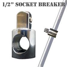 """1/2"""" Socket with Open Cross Breaker Bar Nut (Nut Only, Crossbar not included)"""