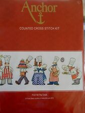 """Cross stitch Kit """"  The Chefs """" New by Anchor"""