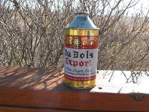 DU BOIS EXPORT Du Bois, PA Old Cone Top Beer Can
