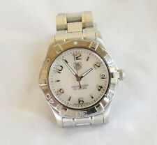 Tag Heuer WAF1311 MidSize / Ladies Watch MOP Dial - Stainless - Used